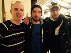 Beppe Carella,Gabriele Cannarozzo e Robertodi Virgilio