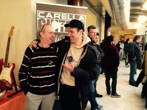 Beppe Carella e Leo Marchi
